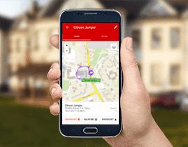 Mobilní aplikace ONI system