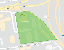 Vykreslenie zón