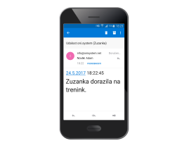 Notifikace SMS