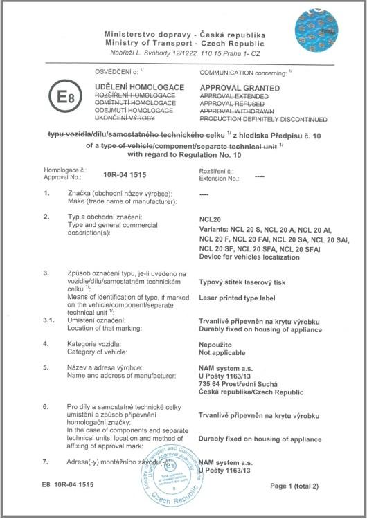Certifikát-schválení-E8-NCL-20-e1449064871757