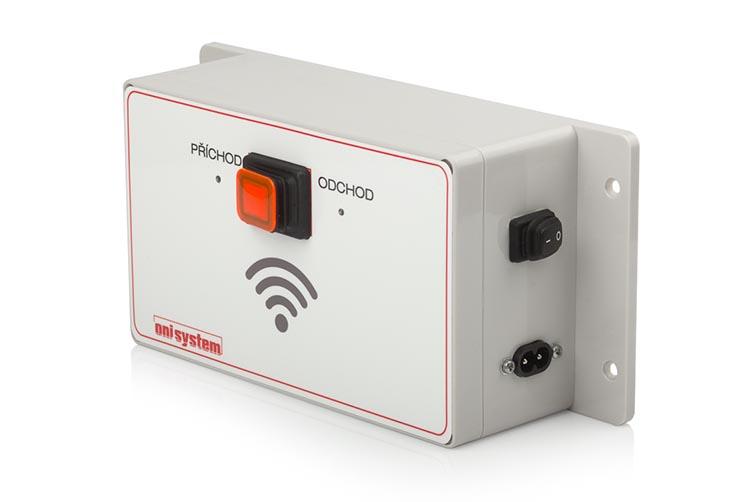 ONI system docházková jednotka s přepínačem typu Příchod/Odchod