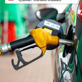 SMS a emailové notifikace o podezřelém úbytku paliva
