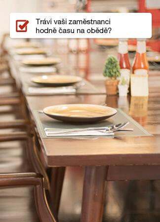 Zóny Tráví vaši zaměstnanci hodně času na obědě