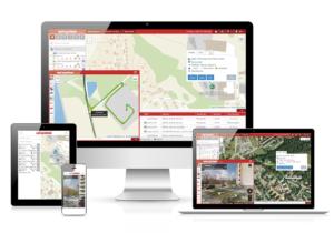 Zobrazení vozidel na mapě ONI system