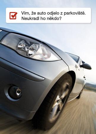 Výjezd vozidla ze zóny - krádež vozidla