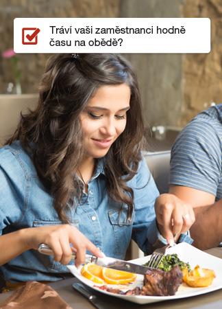 Zóny - tráví vaši zaměstnanci příliš dlouhou dobu na obědě? Řešte to