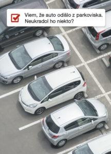 Zóny parkovisko