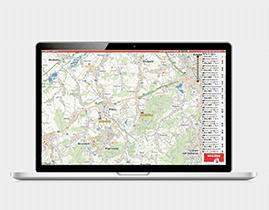 Komplexní software pro správu vozidel ONI system
