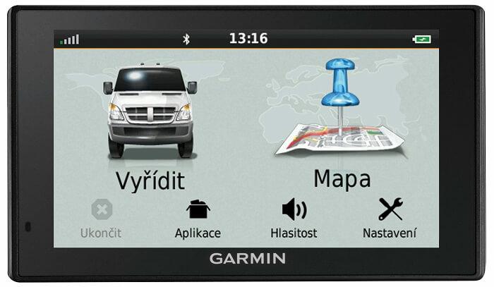 Komunikace s řidičem Garmin zobrazení všeho, co je potřeba vyřídit
