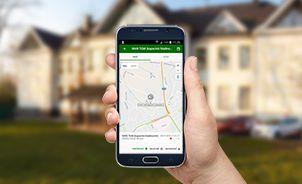 Mobilní aplikace NAM tracker