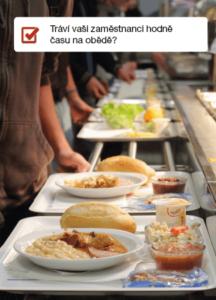 Zóny Zaměstnanci na obědě