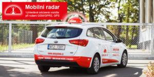 Mobilní radar na zásahovém vozidle ONI system