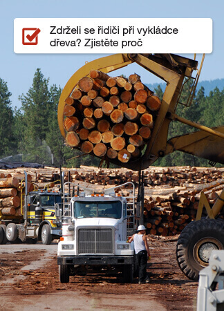 Zóny vykládka dřeva ONI system