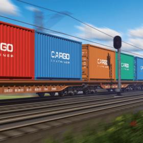 Monitorování pohybu kontejnerů