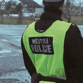 Monitorování trasy obchůzek strážníků