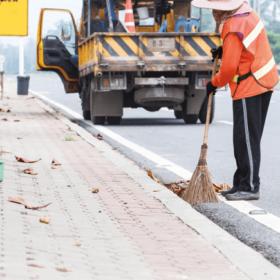 Sledování práce komunálních pracovníků