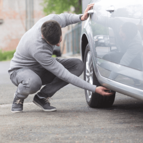 Utajené monitorování vozidel