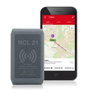Hlídání strojů GPS tracker NCL 21