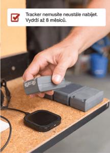 Výdrž baterie trackeru NCL 21