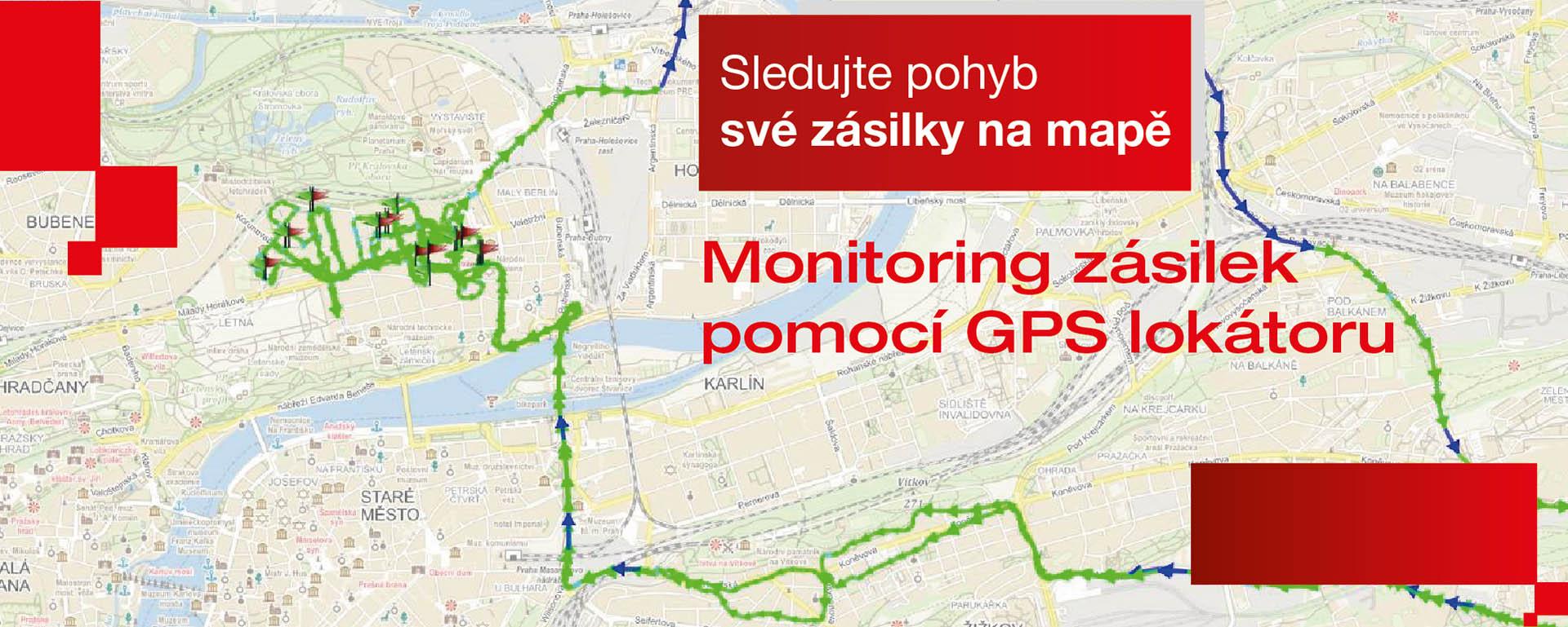Monitoring zásilek